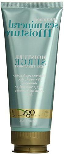 OGX Moisture Surge Deep Treatment, Quenched Sea Mineral, 6.7