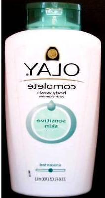 Olay Complete Body Wash Vith Vitamins Unscented Moisture Sen
