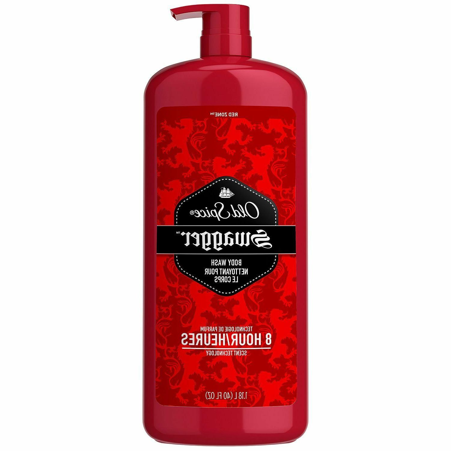 Old Spice Red Zone Men's Body Wash, Swagger  Free Shipping