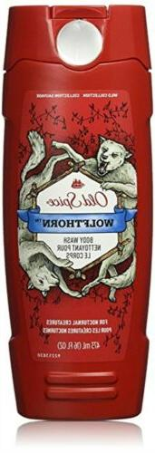 Old Spice Wild Collection Wolfthorn Scent Body Wash 16 Fl Oz