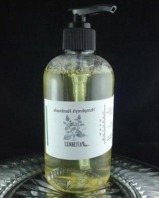 PATCHOULI Natural Castile Soap Body & Beard Wash Unisex Hipp