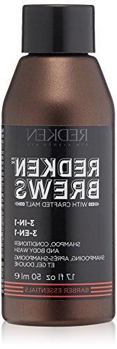 Redken Brews 3-in-1 Shampoo, 1.7  fl. oz.