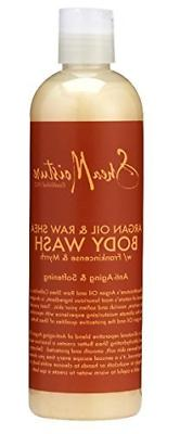 SheaMoisture Argan Oil & Raw Shea Butter Body Wash, 13 Ounce