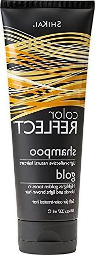 Shikai - Color Reflect Gold Shampoo, Creates an Overall Brig