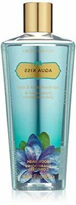 Victoria's Secret Aqua Kiss Body Wash for Women 8.4 oz Brand