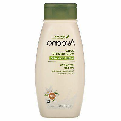 2 AVEENO Active Naturals DAILY MOISTURIZING Yogurt Body Wash