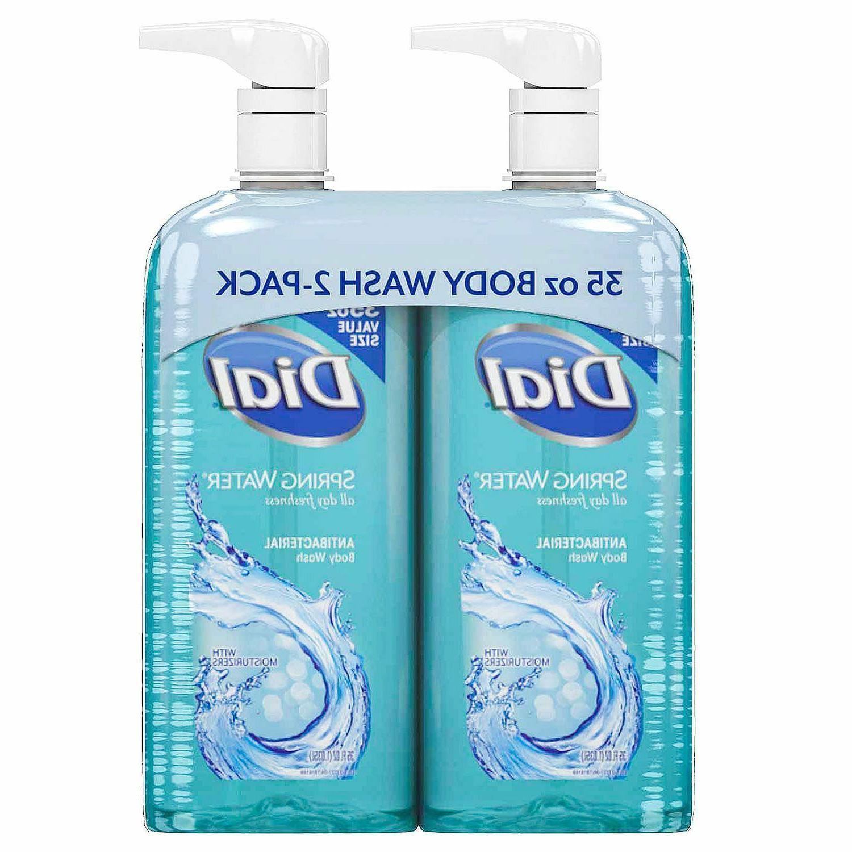 antibacterial body wash spring water 35 fl