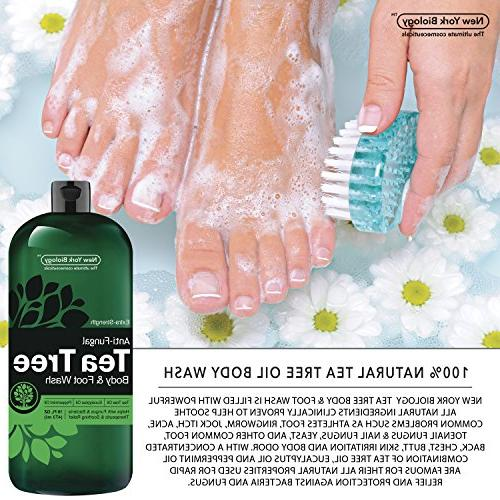Antifungal Tea Body 16 OZ Pure & - Extra - Toenail Fungus, Itch, Eczema