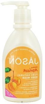 Apricot Satin Body Wash with pump-900 ml Brand: Jason Natura