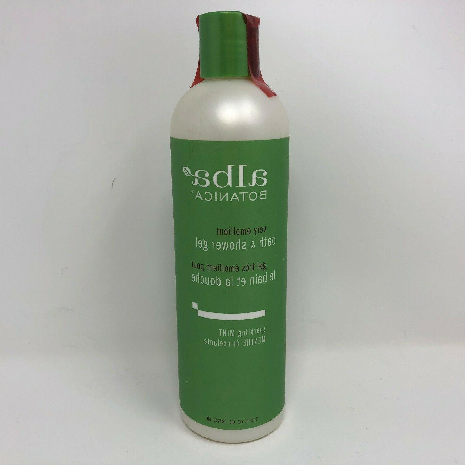 Alba Botanica Bath and Shower Gel, Sparkling Mint - 1 x 32 O