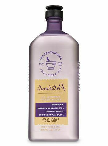 Bath & Body Works NEW  Aromatherapy PATCHOULI  BODY WASh 10o