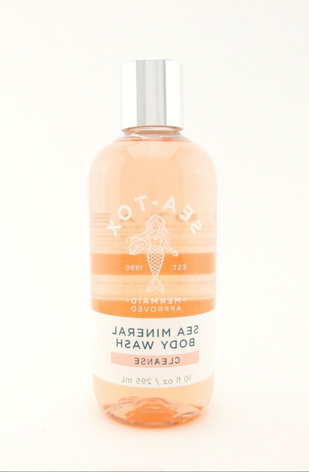 Bath Body Sea-Tox Wash Shower Gel