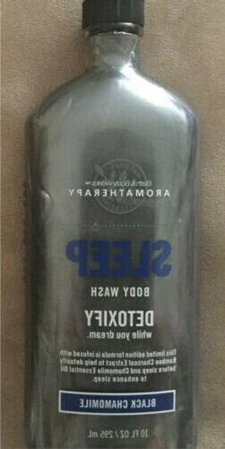Bath Body Works Aromatherapy Sleep Body Wash Detoxify Black