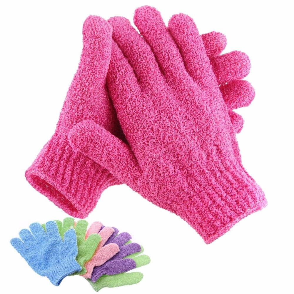 Bath Exfoliating Mitt Glove For Scrub <font><b>Body</b></font> Massage Moisturizing SPA