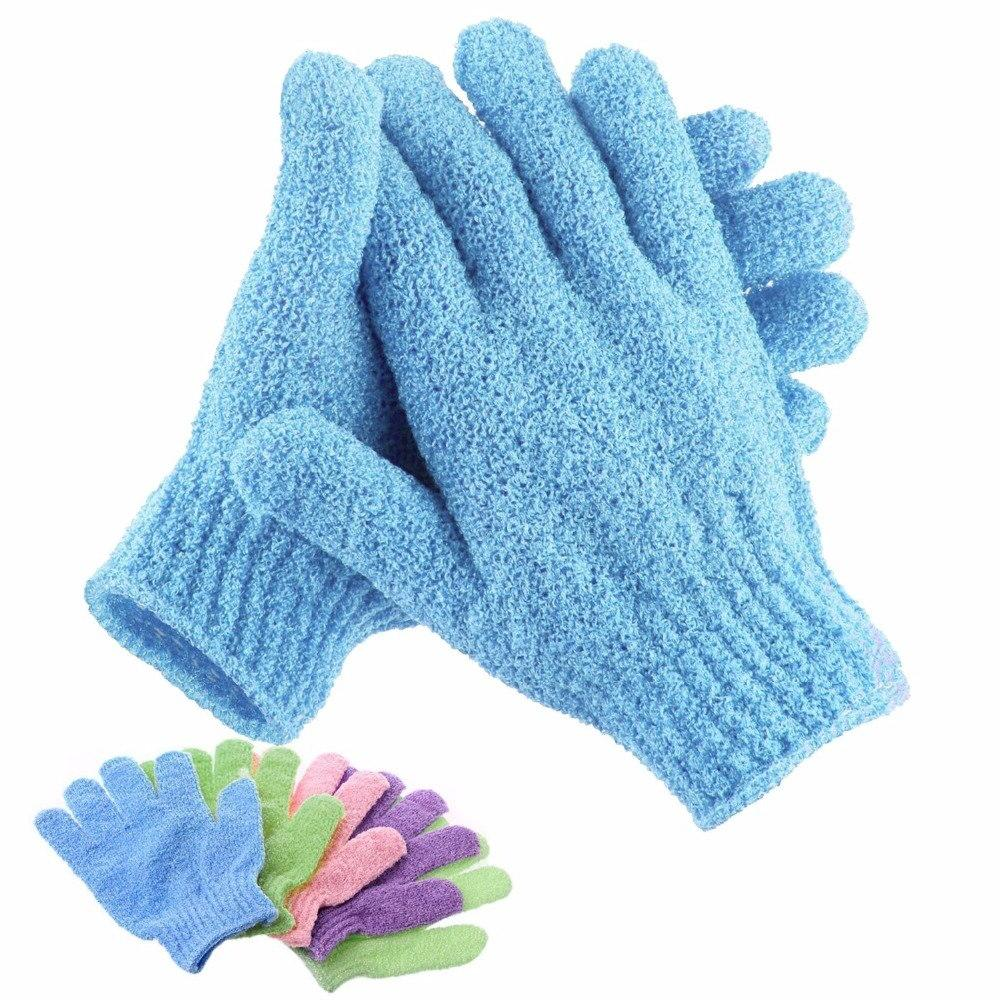 Bath For Mitt Glove Scrub Gloves Massage Sponge Moisturizing