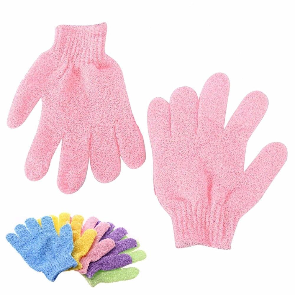 Bath For Mitt Glove Shower Scrub Massage Moisturizing SPA