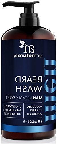 ArtNaturals Natural Beard Shampoo Wash -  - Infused with Alo