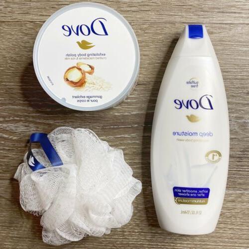 beauty gift set exfoliating polish