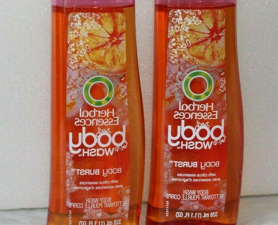 Herbal Body Body Wash Citrus Essences Set 11.1 fl
