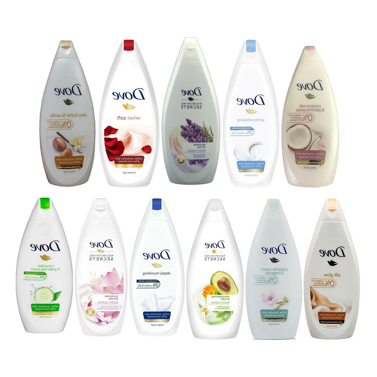 body wash 500ml 16 9oz selected pack