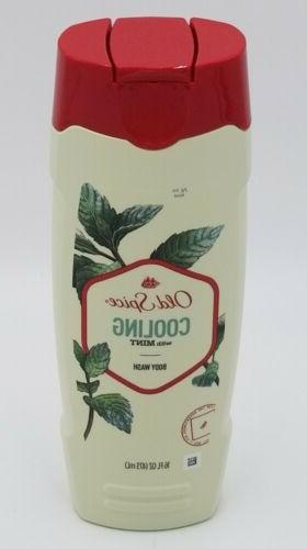 body wash cooling with mint 16 oz