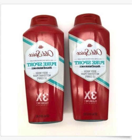 body wash pure sport 18 oz 2