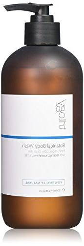 Trilogy Botanical Body Wash for Unisex, 16.9 Ounce