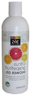 365 Everyday Value Citrus Grapefruit Shower Gel 16 FLOZ Body