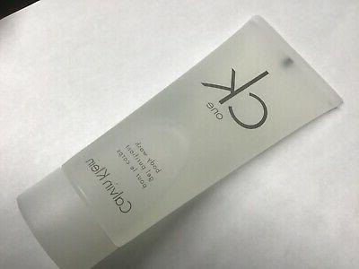 CK ONE shower gel BODY WASH 3.4 oz CALVIN KLEIN unisex CK on