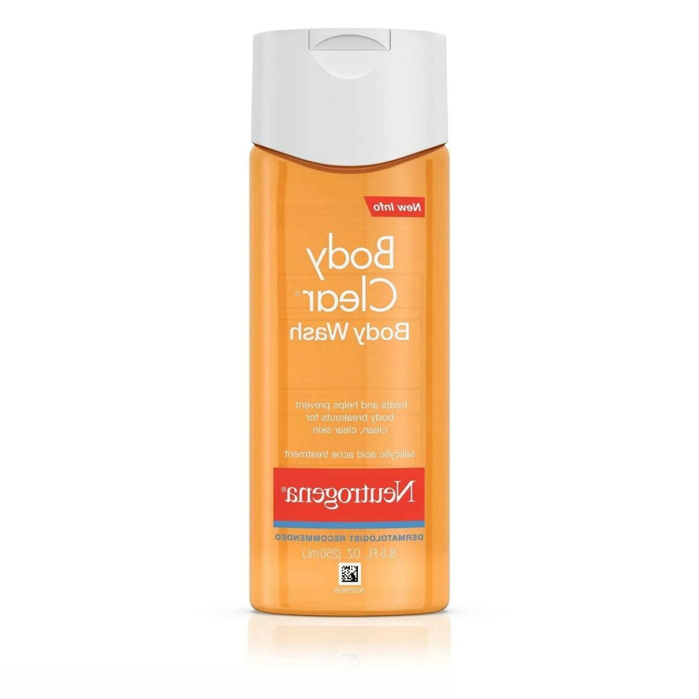 Neutrogena Body Clear Body Wash 8.5oz