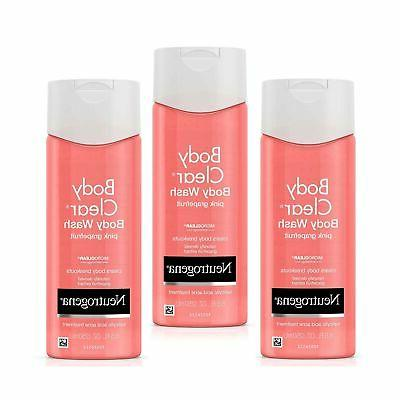 Neutrogena Body Clear Body Clear Body Wash, Pink Grapefruit
