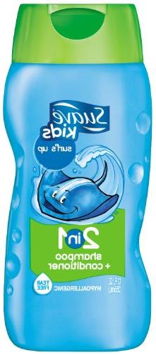 Suave Kids 2 in 1 Shampoo & Conditioner, Surf's Up 12 Ounce