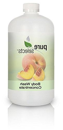 Pure Selects Fragrance & Dye Free Body Wash Concentrate •
