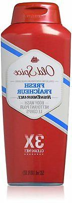 Old Spice High Endurance Body Wash, Fresh, 18 fl oz ,