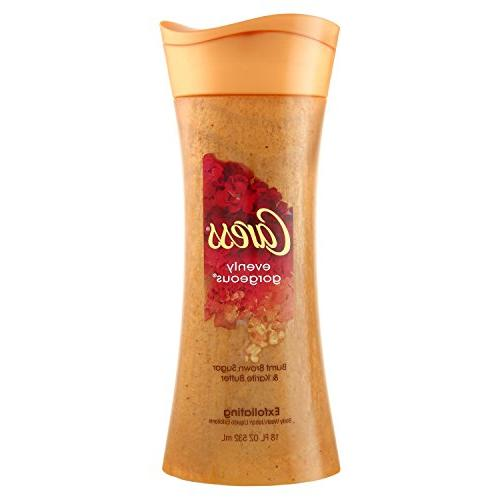Caress Exfoliating Body Wash, Evenly Gorgeous, 18 oz