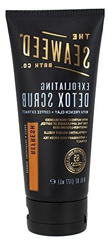 The Seaweed Bath Co. Exfoliating Detox Body Scrub, Refresh S