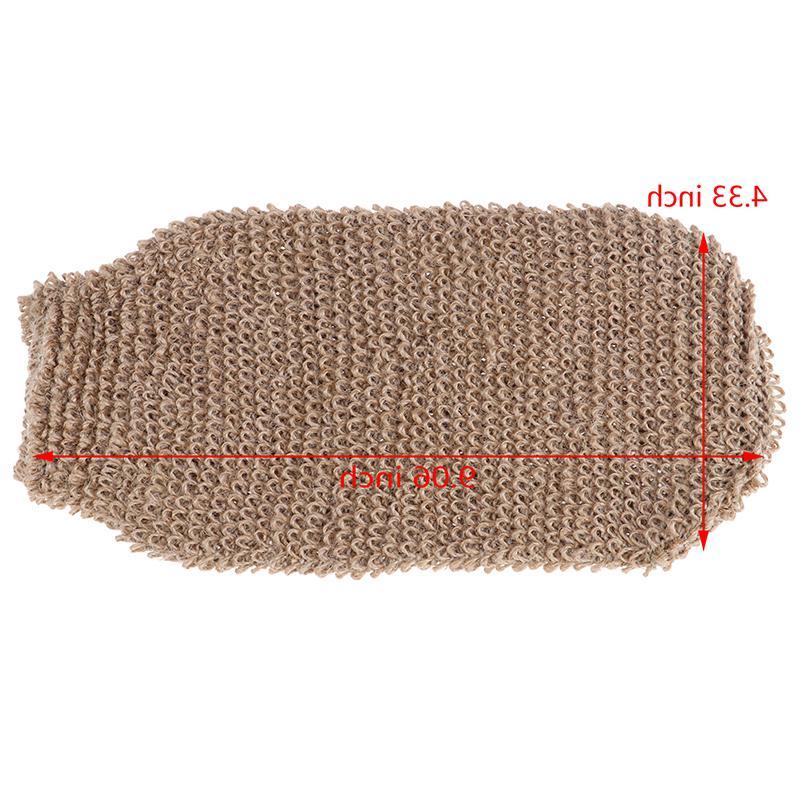 Fibre Skin Foam Massage Hemp <font><b>Body</b></font> Cleaning Towel Sponges free shipping