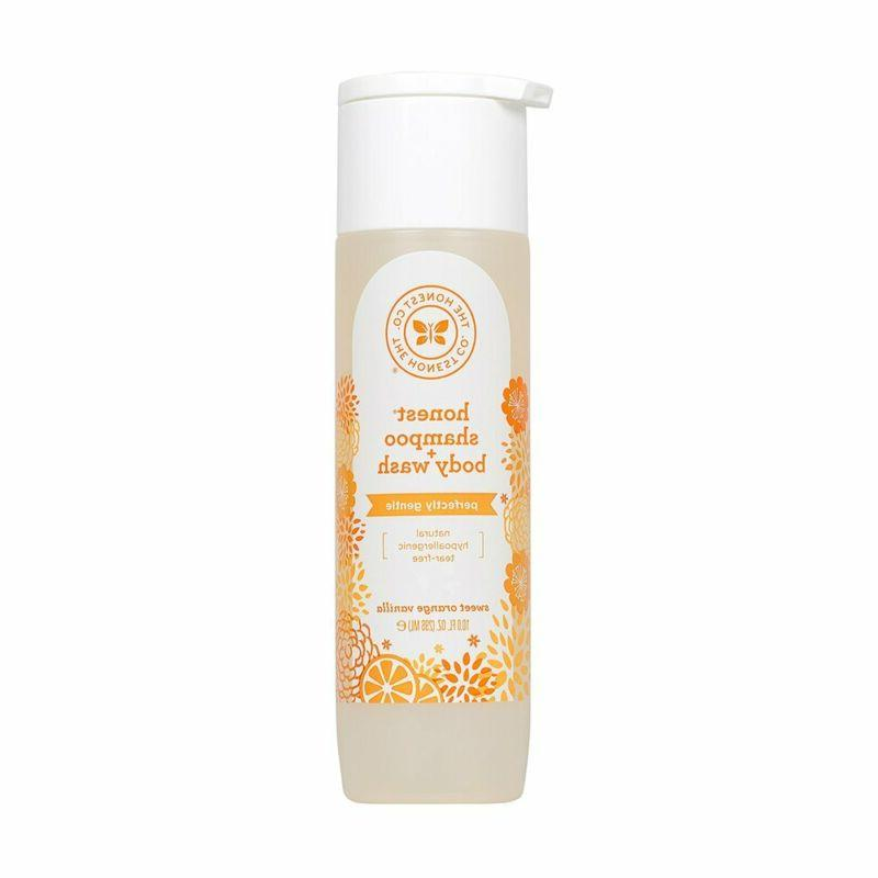 Honest Shampoo & Body Wash, Perfectly Gentle Sweet Orange Va