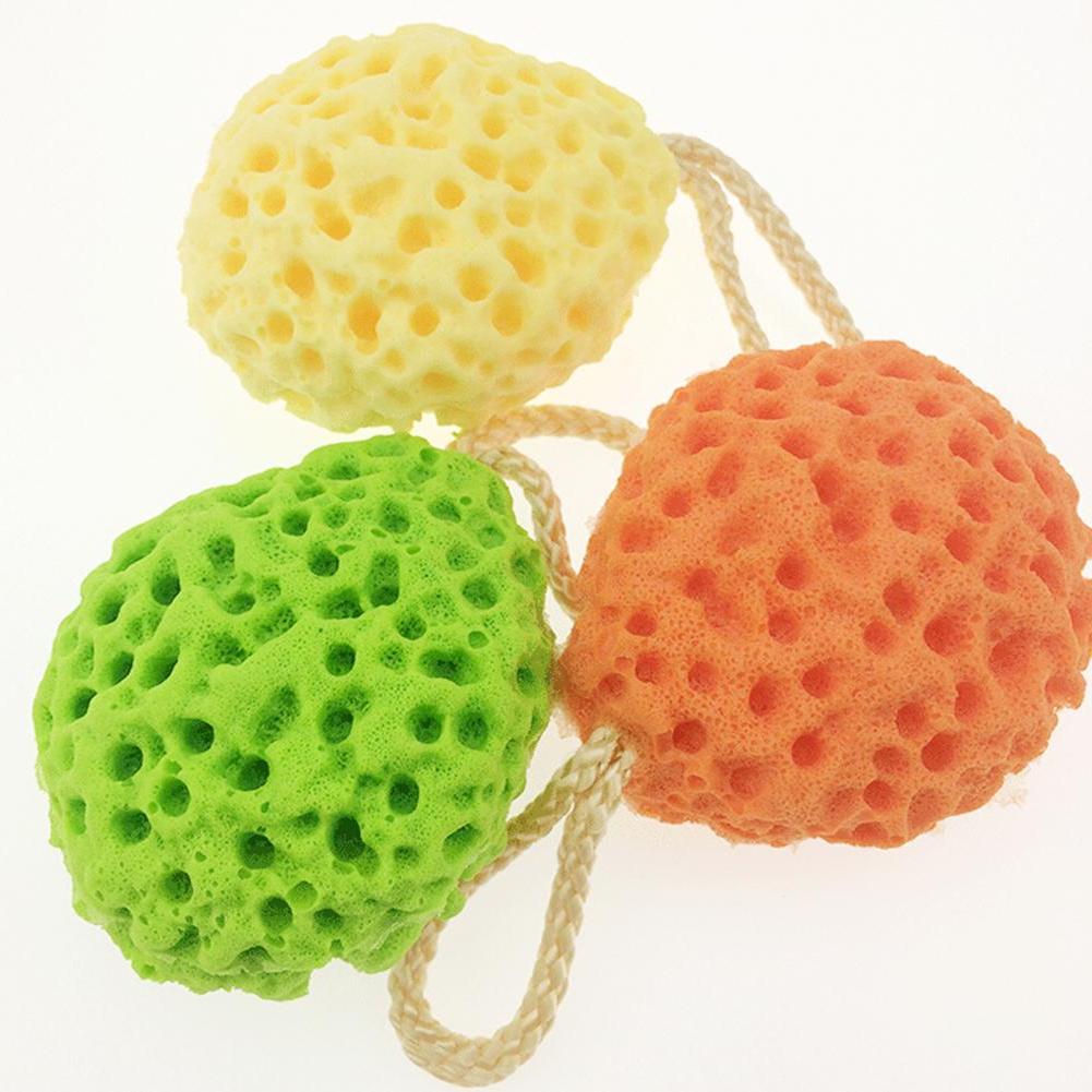 honeycomb baby bath sponge scrubber natural soft