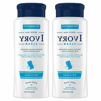 ivory body wash original 21 oz pack