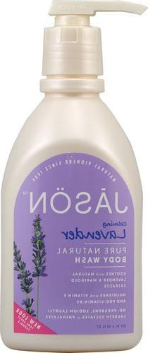 Jason Body Wash Pure Natural Calming Lavender -- 30 fl oz -