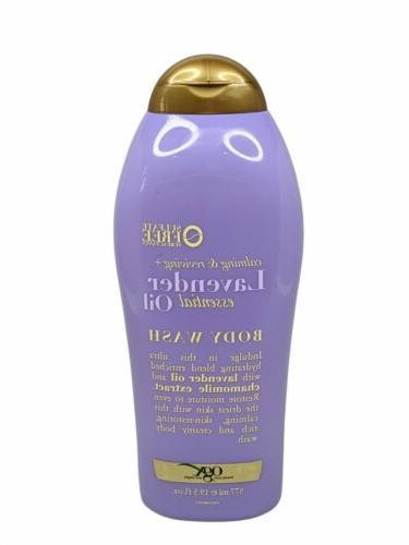 OGX Lavender Essential Oil Body Wash 19.5 Ounce Bottle