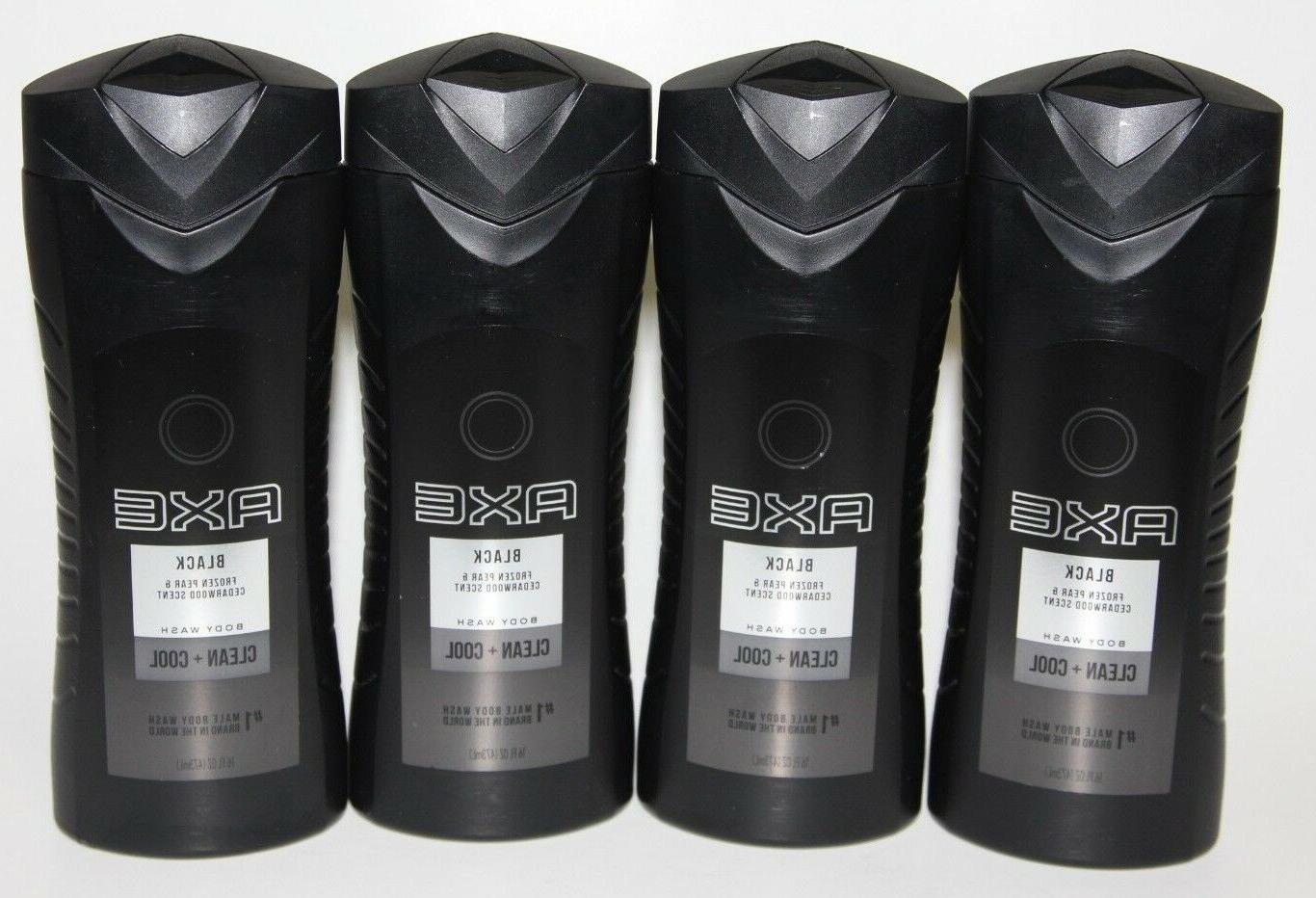 LOT  AXE BLACK BODY WASH PEAR & CEDARWOOD SCENT CLEAN COOL 1