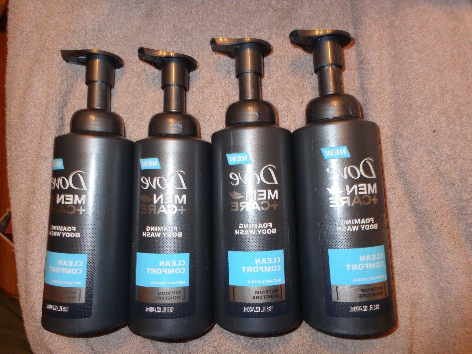 lot 4 men care clean comfort foaming