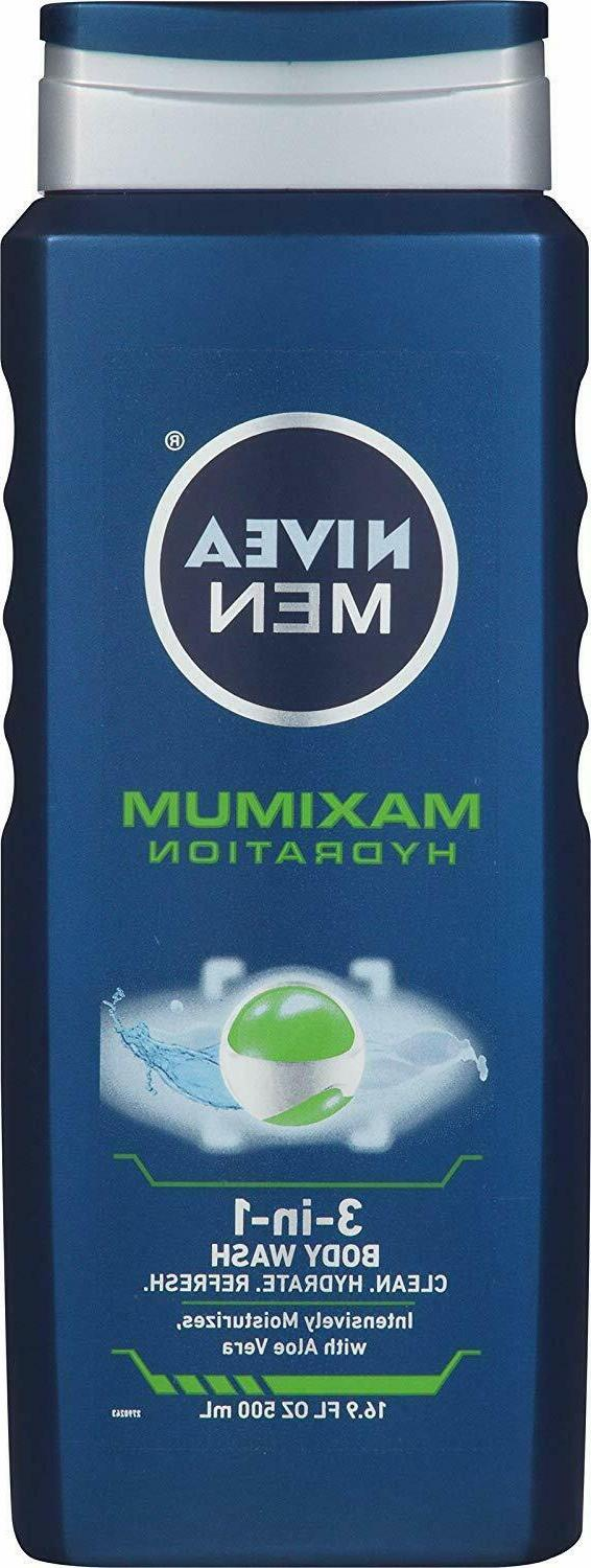 maximum hydration 3 in 1 body wash