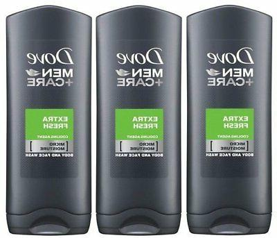 men body and face wash extra fresh