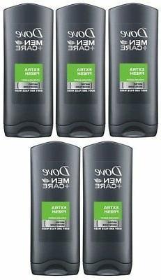 DOVE MEN BODY & FACE WASH EXTRA FRESH 400 ML