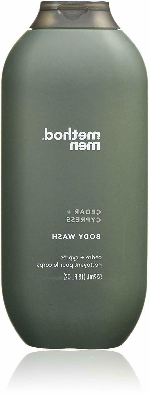 Method Men Body Wash, Cedar + Cypress, Men - 18 fl oz