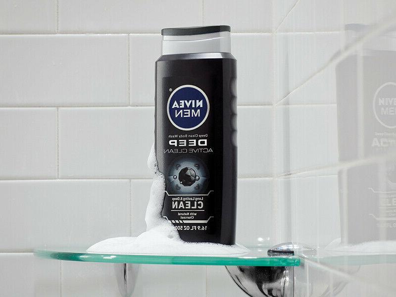 NIVEA Active Clean 8-hour Fresh