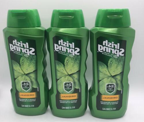 Irish Spring Body Wash Original 18oz 24 Hour
